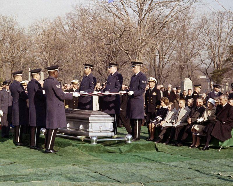 Memorial Service for Apollo 1 Astronauts Virgil Grissom, Edward