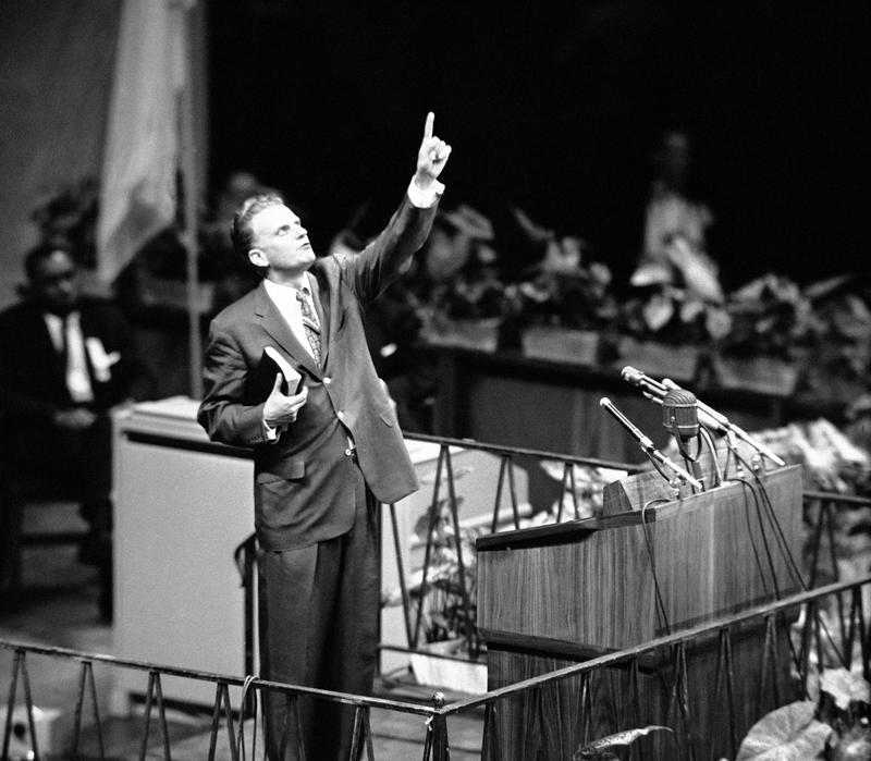 that time billy graham packed madison square garden and yankee
