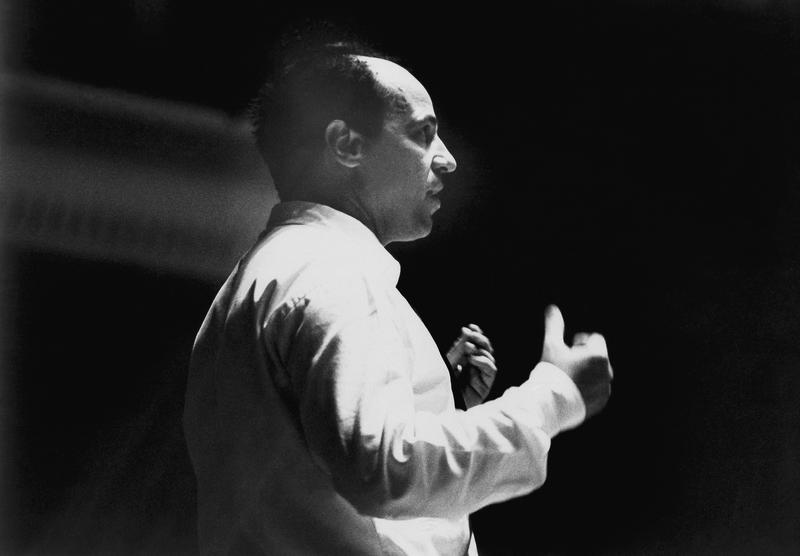Composer Pierre Boulez on June 11, 1969.