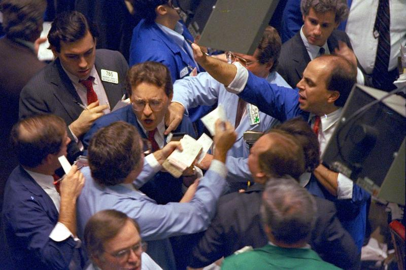 Image result for wall street panic