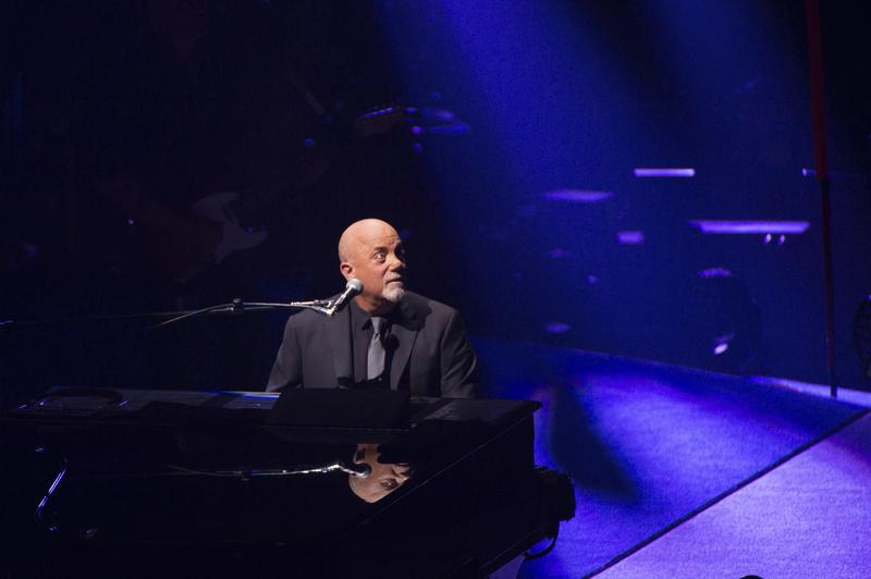 Billy Joel performs in concert for the grand re-opening of the Nassau Coliseum on Wednesday, April 5, 2017, in Uniondale, New York.