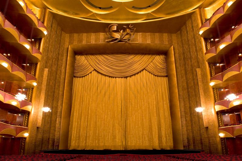 Of Curtains And Curtain Calls The Auditorium Metropolitan Opera House In New York City