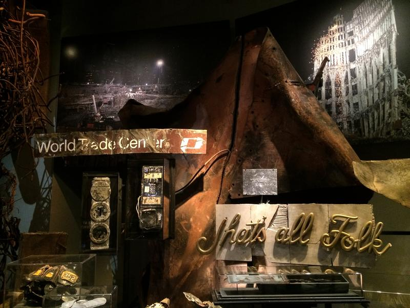 photos first look at the 9 11 memorial museum wnyc news wnyc
