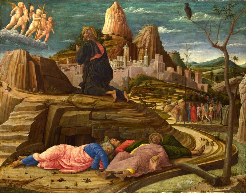 """""""The Agony in the Garden,"""" by Andrea Mantegna (1431-1506)."""