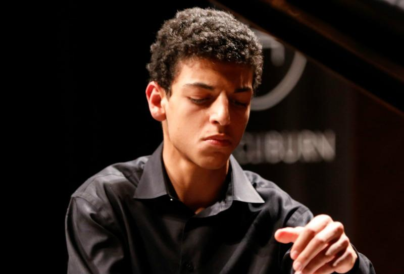 Amir Siraj was one of the Kaufman Center's 2017 Youth Piano Competition winners.