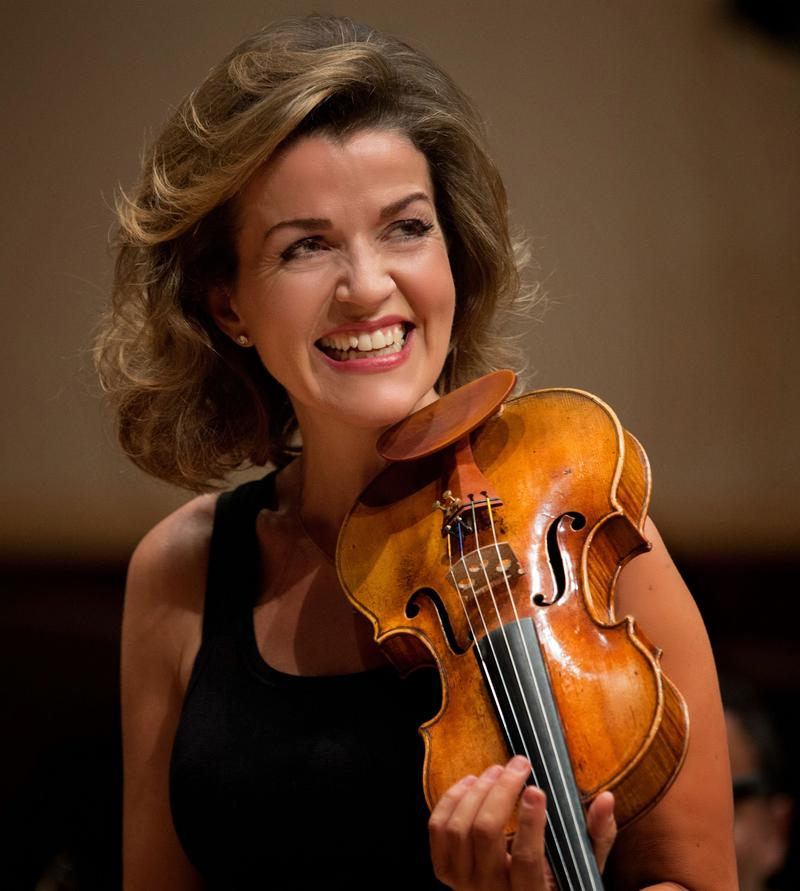 Anne-Sophie Mutter joined the Berlin Philharmonic.