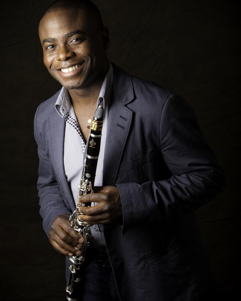 Clarinetist Anthony McGill.