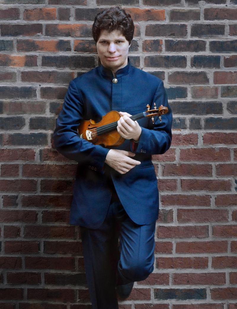 Violinist Augustin Hadelich