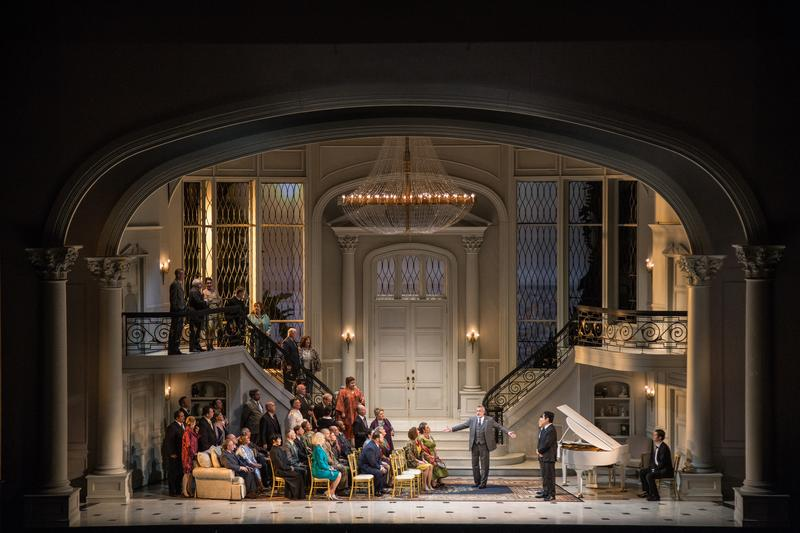 A scene from 'Bel Canto' at the Lyric Opera of Chicago.