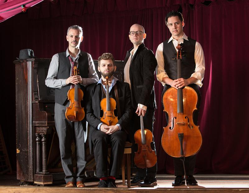 Michael Nicolas (right) joins Indie-Classical group Brooklyn Rider as it's new cellist.