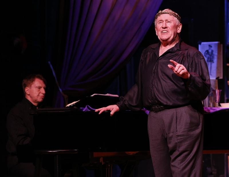 Actor Len Cariou stars in 'Broadway and the Bard,' with Mark Janas at the piano.