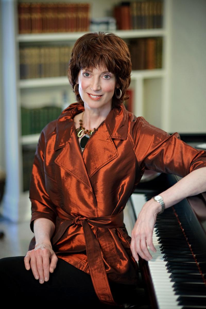 Composer, harpsichordist and organist Barbara Harbach.