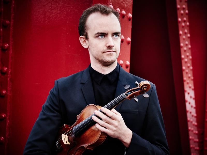 Violinist Benjamin Baker.