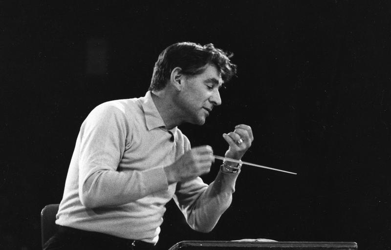Leonard Bernstein, former music director of the New York Philharmonic.