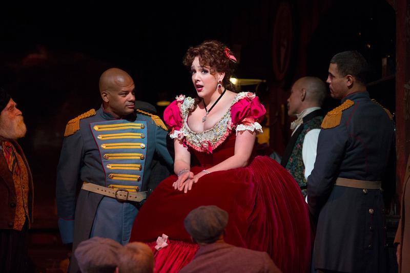 Susanna Phillips as Musetta in Puccini's La Bohème