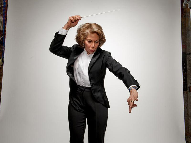 Composer and conductor Victoria Bond.