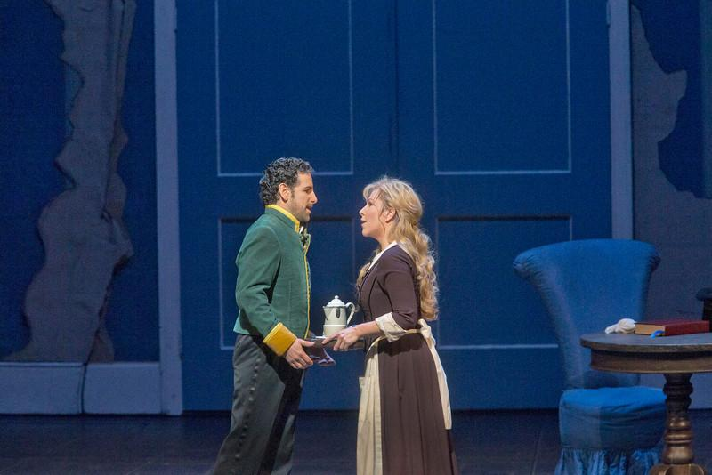 "Juan Diego Flórez as Don Ramiro and Joyce DiDonato as Angelina in Rossini's ""La Cenerentola."""