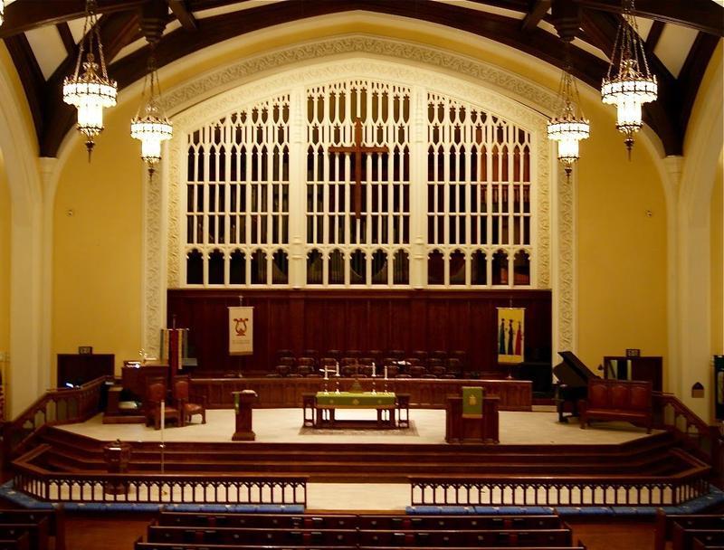 Moller organ at First United Methodist Church in Charlotte, N.C.