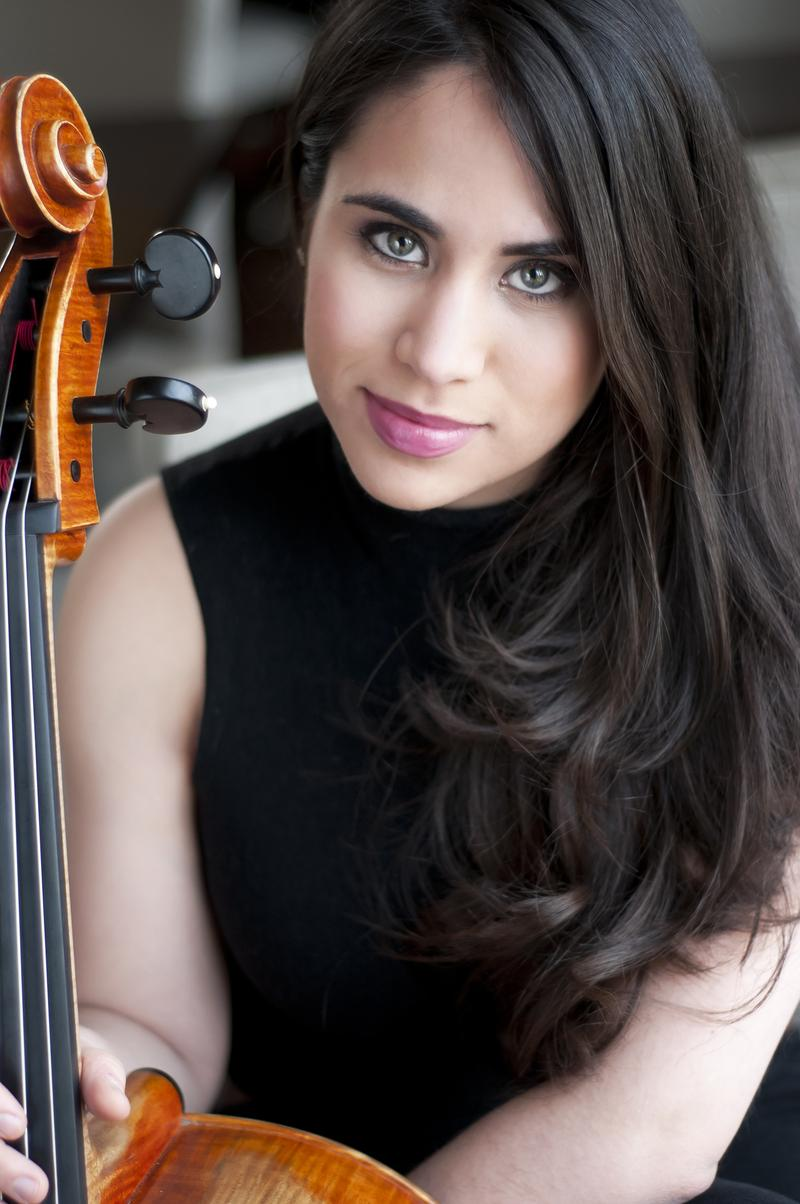 Christine Lamprea is an emerging cellist.