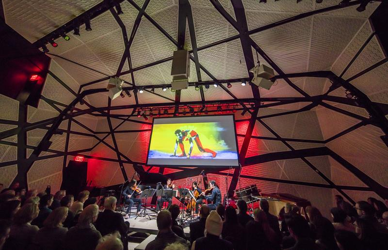 The New York Philharmonic presents CONTACT! at National Sawdust, hosted and curated by Esa-Pekka Salonen.