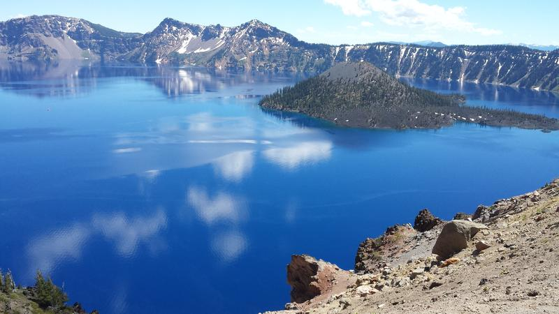 Crater Lake in Southern Oregon was the inspiration for Michael Gordon's composition, 'Natural History.'