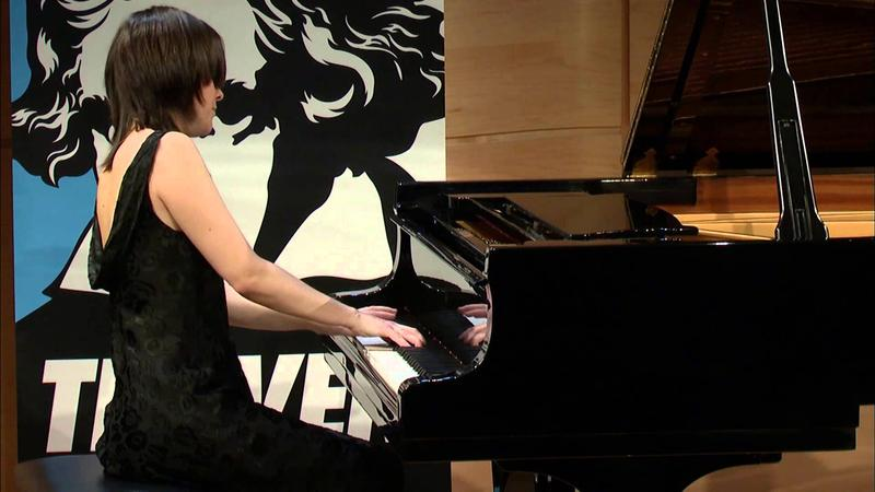 Daria Rabotkina Plays Beethoven in The Greene Space on Nov. 20, 2011.
