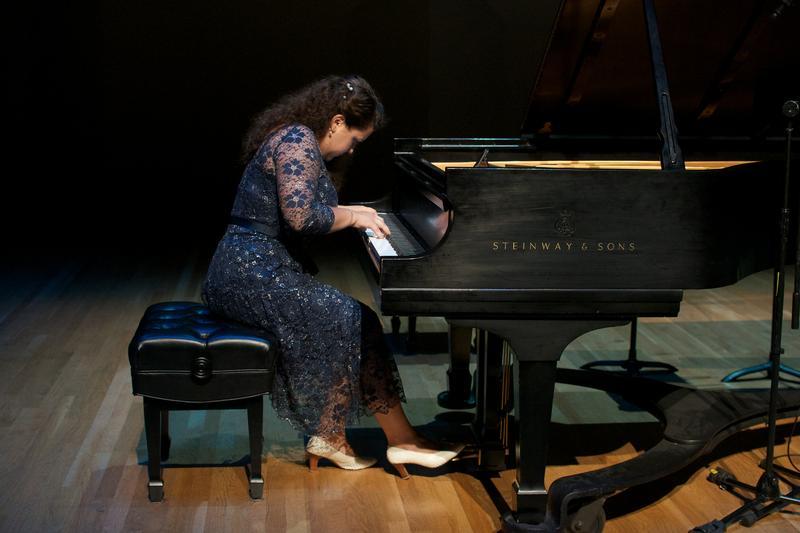 Pianist Dasha Bukhartseva.