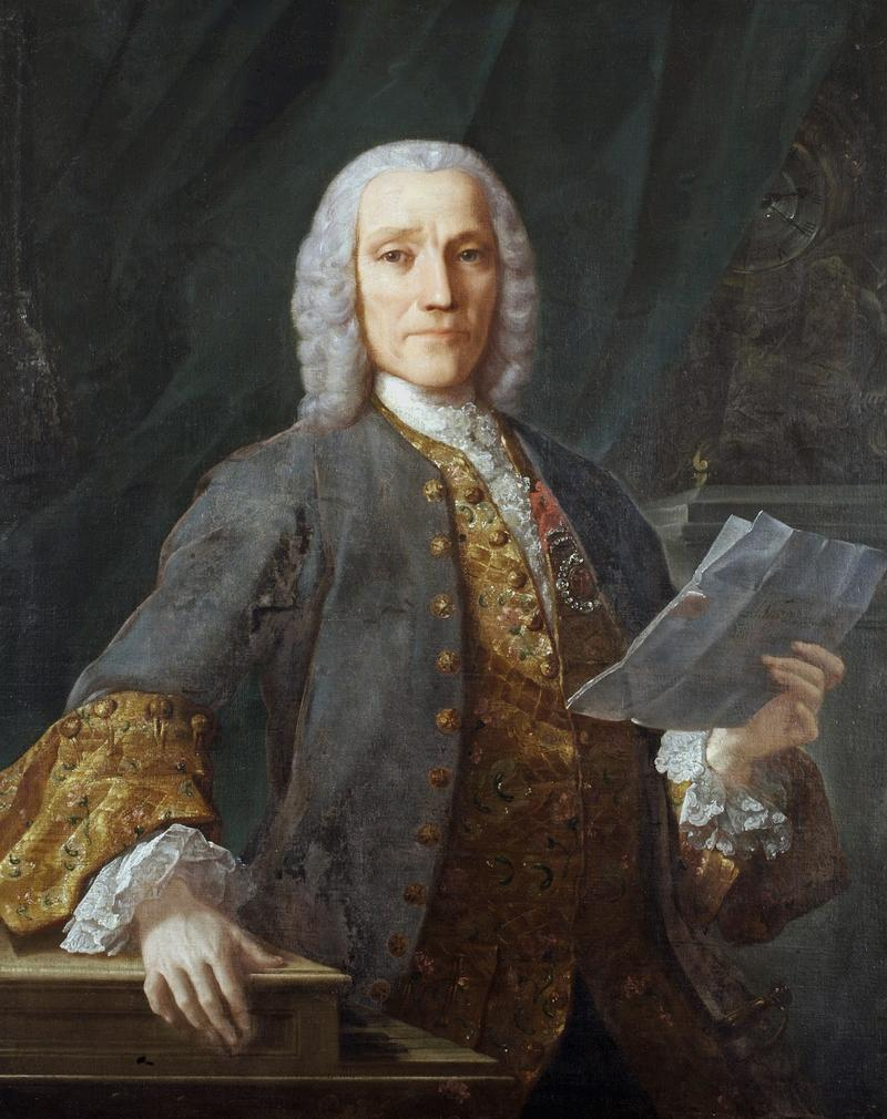 'Retrato de Domenico Scarlatti' by Domingo Antonio Velasco.