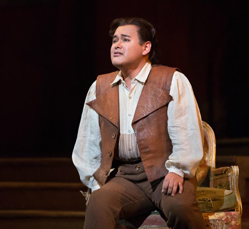 Tenor Javier Camarena stars as Ernesto in the Met's 'Don Pasquale.'