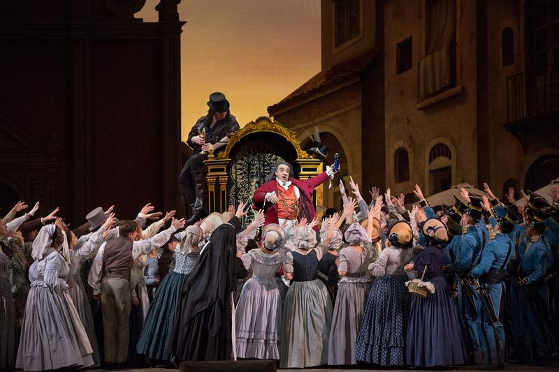 Alessandro Corbelli stars as Dulcamara in the Met's 'L'Elisir d'Amore.'