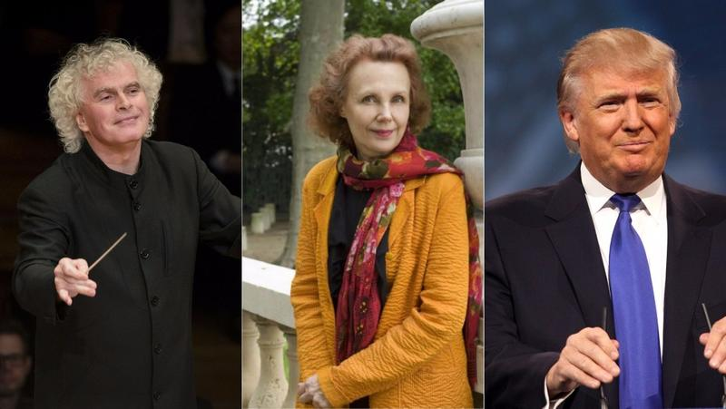 Simon Rattle, Kaija Saariaho and Donald Trump are all figures whose presence will be felt in concert halls this fall.