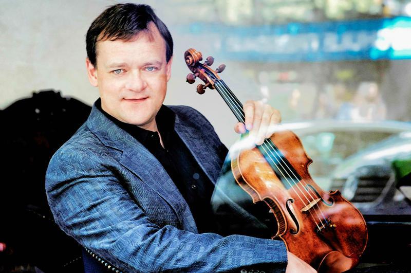 Frank Peter Zimmermann, violinist