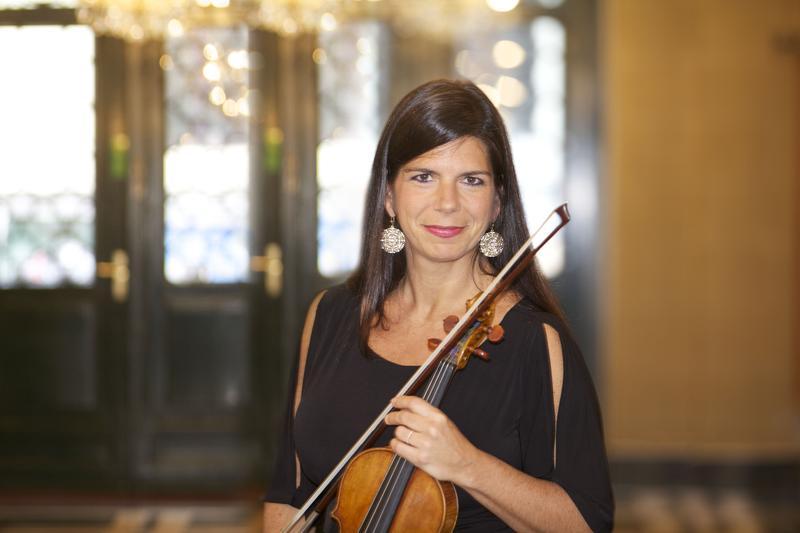 Violinist Pamela Frank is a mentor for the Evnin Rising Stars program at Caramoor.