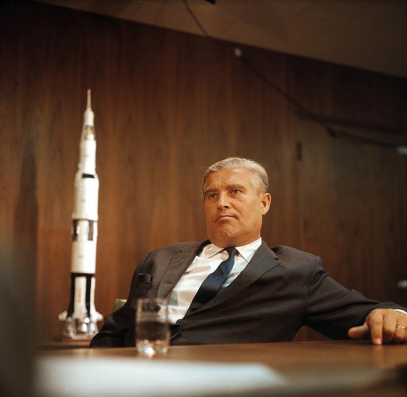 Wernher Von Braun The Douglas P Cooper Distinguished