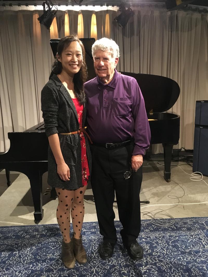 2017 winner of the Pro Musicis International Award, pianist Juliann Ma with Bob Sherman
