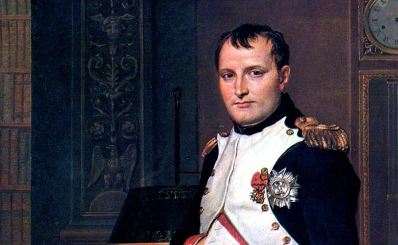 Napoleon Bonaparte in the uniform of Colonel of Chasseurs of the Imperial Guard