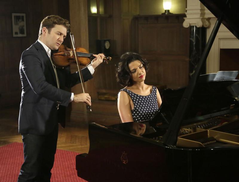 Violinist Renaud Capuçon and pianist Khatia Buniatishvili
