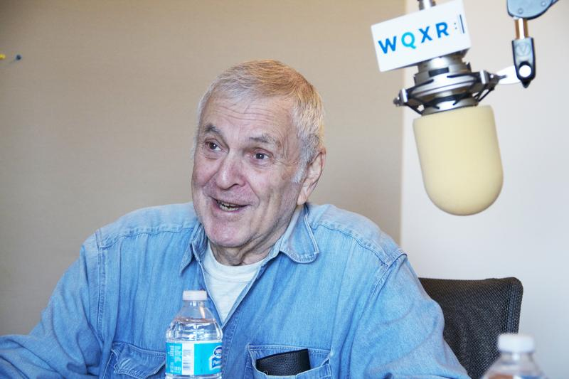 Composer John Kander in studio