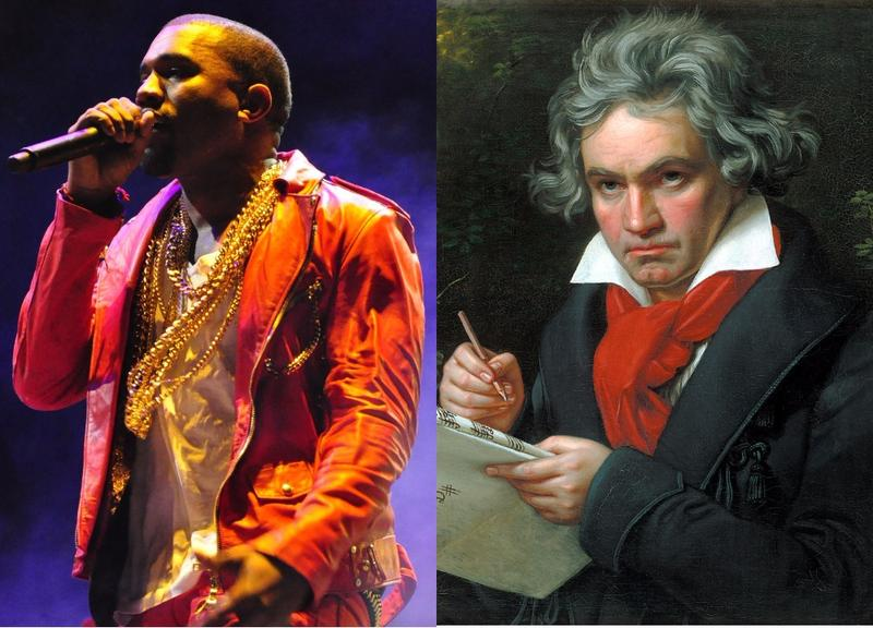 An LA ensemble is mashing up Kanye West's album 'Yeezus' with Beethoven symphonies.