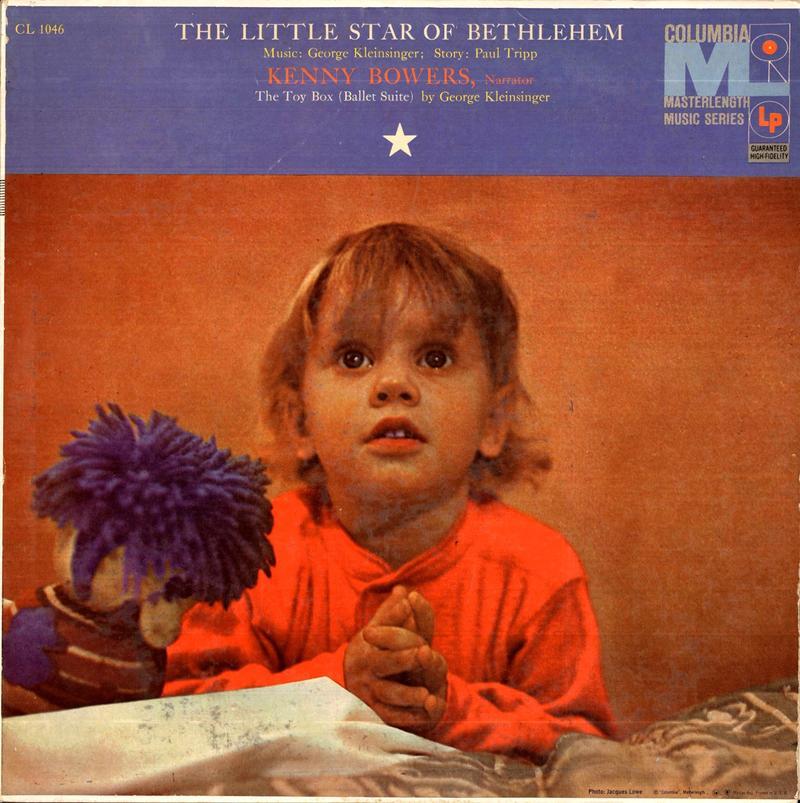 "Kenny Bowers ""The Little Star of Bethlehem"" album cover"