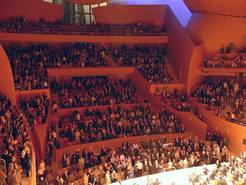 Walt Disney Concert Hall, Los Angeles Auditorium