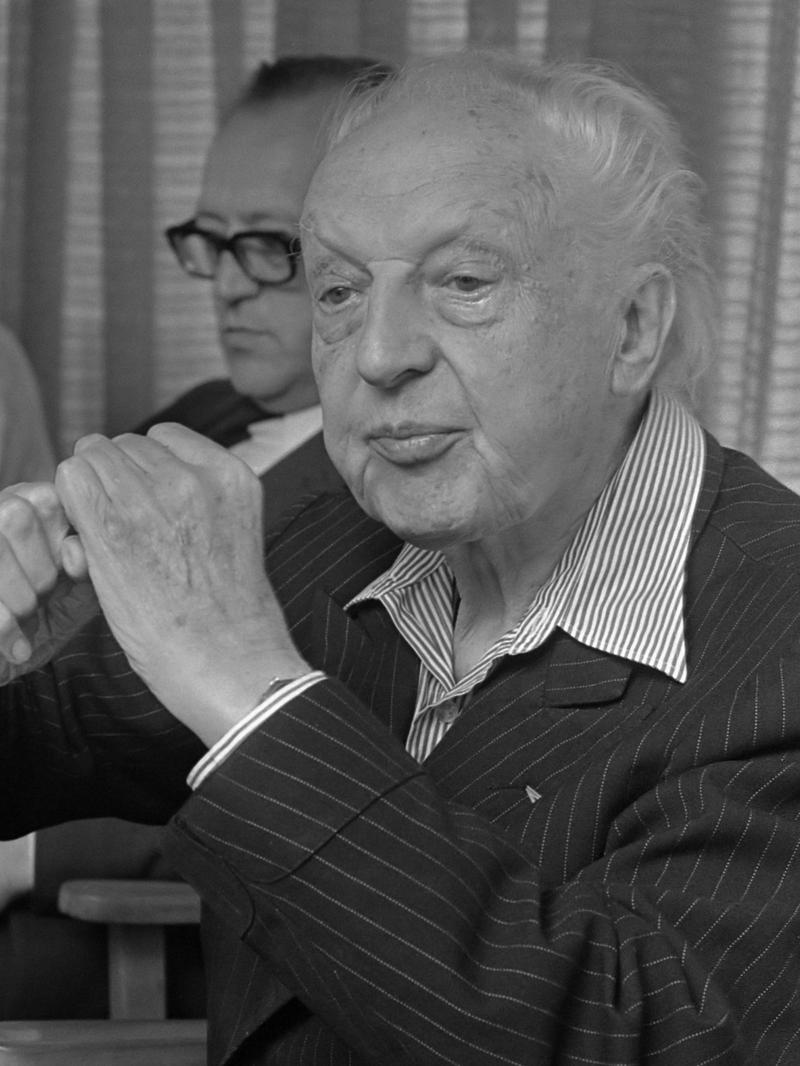 Maestro LeopoldStowkowski, August 11, 1970.