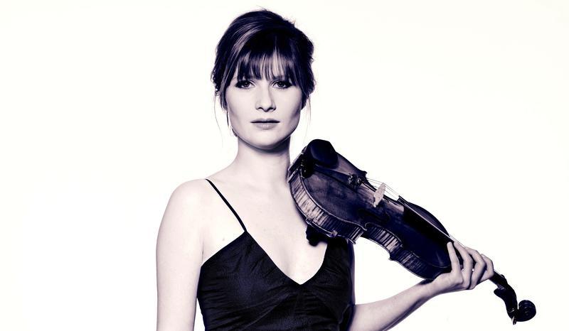 Violinist Lisa Batiashvili.