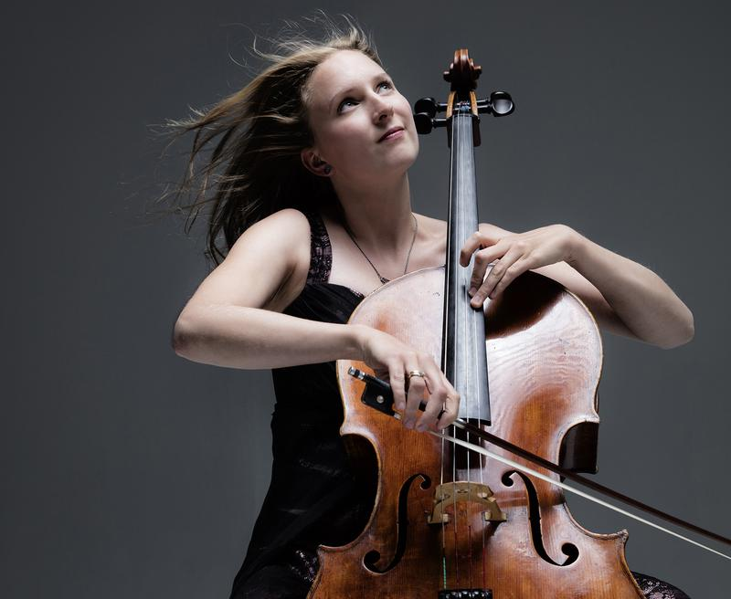 Cellist Marie-Elisabeth Hecker.
