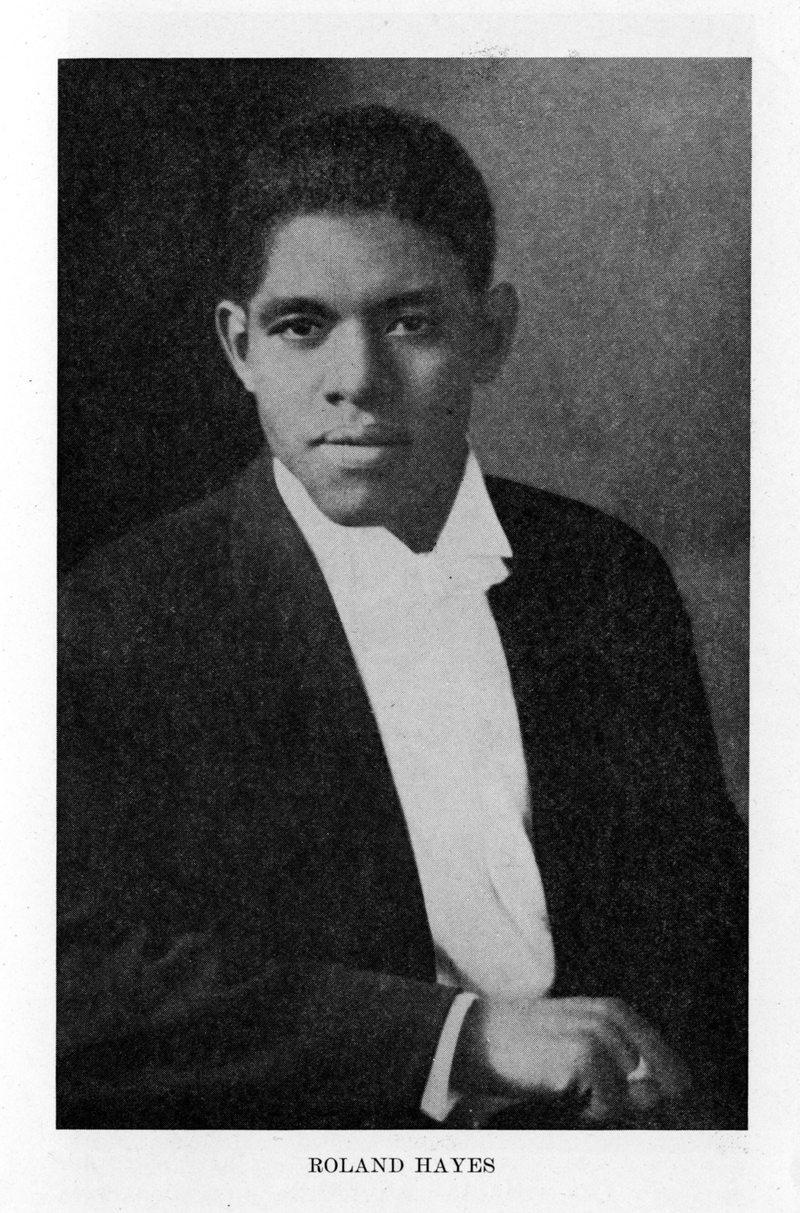 Roland Hayes, tenor