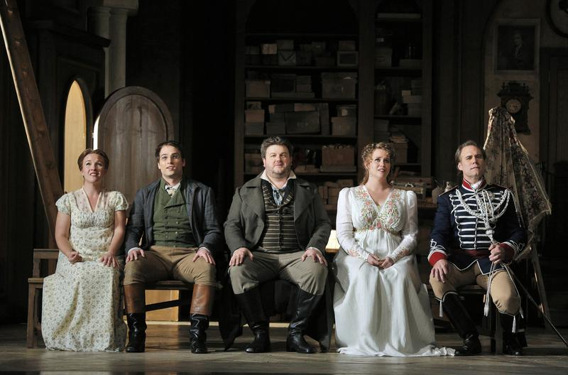 Sasha Cook, Alek Shrader, James Rutherford, Rachel Willis-Sorensen and Brandon Jovanovich star in Wagner's 'Die Meistersinger von Nürnberg.'