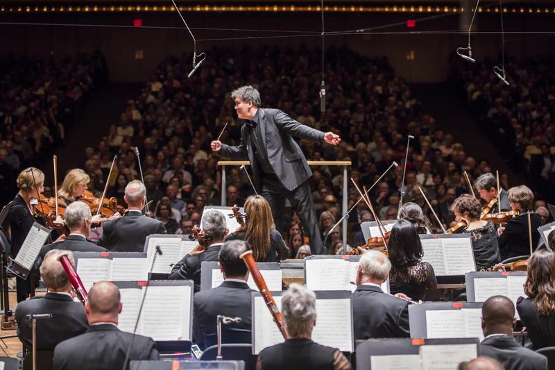 Conductor Alan Gilbert and the New York Philharmonic, as part of Bernstein's Philharmonic: A Centennial Festival