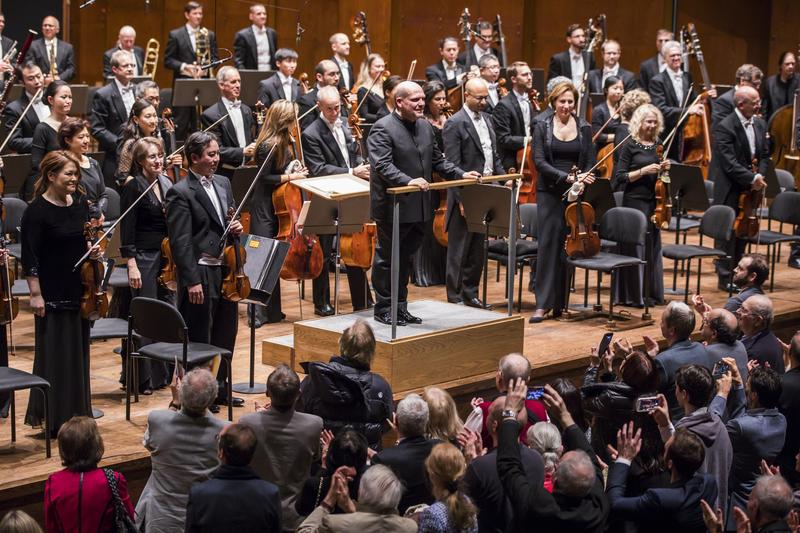 Jaap van Zweden and The New York Philharmonic.