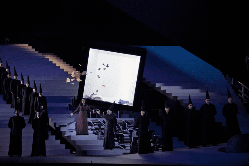 Verdi's 'Nabucco' from the Grand Theatre of Geneva in Switzerland.