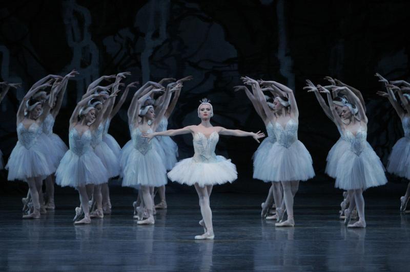 New York City Ballet in Peter Martins' 'Swan Lake.'
